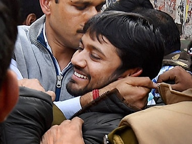 Kanhaiya Kumar in a file photo. PTI