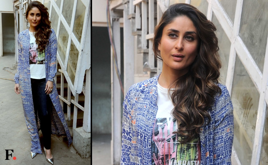 Arjun Kapoor and Kareena Kapoor Khan have been extensively promoting their upcoming film Ki & Ka. This week the duo was spotted at Mehboob Studio, at another publicity event for the R. Balki directed movie. Image by Sachin Gokhale/Firstpost