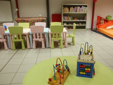 A kindergarten classroom. Image from Getty