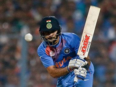 Virat Kohli played a masterful innings at Eden Gardens. AP