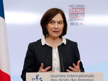 French Minister for the Family, Children and Women's Rights, Laurence Rossignol. AFP