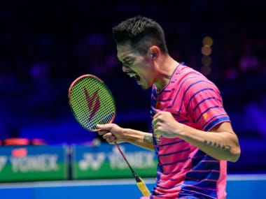Lin Dan won his sixth All-England title. AFP