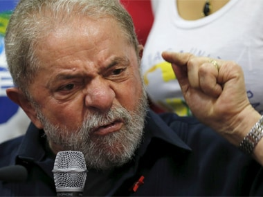 File photo of Lula. Reuters