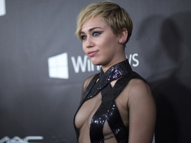 Miley Cyrus wants her guests to get 'high' at wedding with Liam Hemsworth. Image from IBNlive