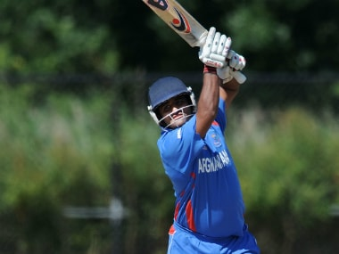 File image of Afghanistan's Mohammad Shahzad. Getty Images