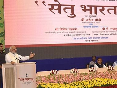 PM Narendra Modi launches Setu Bharatam Programme PIB