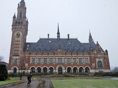 International Court of Justice. AP