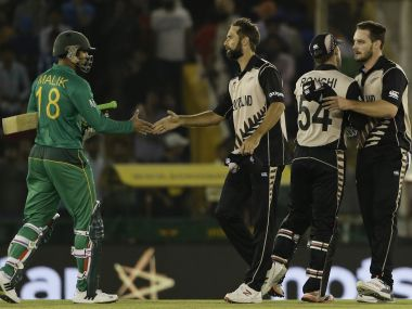 New Zealand made it to the World T20 semi finals after three wins on the trot. AP
