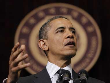 File photo of US President Barack Obama. AP