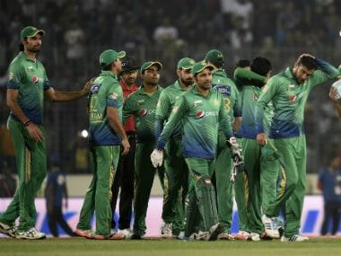 Pakistan Team. AFP