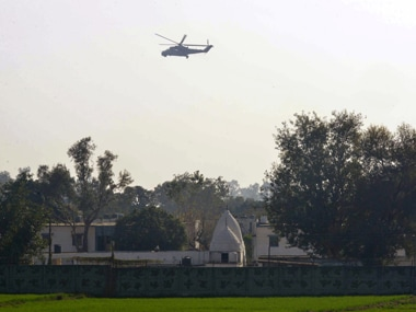 Pathankot air base. AFP