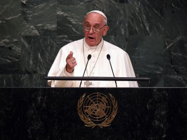 Pope Francis. File photo. AFP