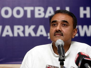 File photo of AIFF President, Praful Patel.
