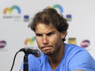 File photo of Rafael Nadal. AP