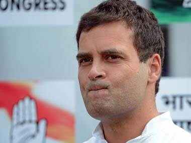 A file image of Rahul Gandhi. AFP