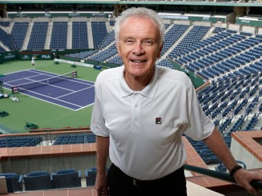 File photo of Raymond Moore at Indian Wells. Reuters