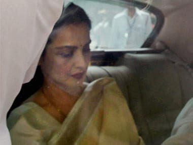 A file photo of Rekha. PTI