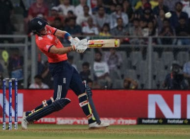 England batsman Joe Root during his knock against South Africa at the Wankhede in Mumbai on Friday. Solaris Images