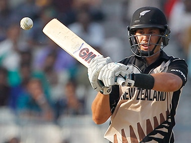 Ross Taylor in action against Bangladesh. AP
