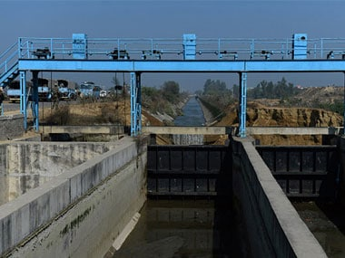 Sutlej Yamuna Link canal. Image courtesy ibnlive
