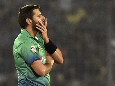 Pakistan were knocked out of Asia Cup by hosts Bangladesh. AFP