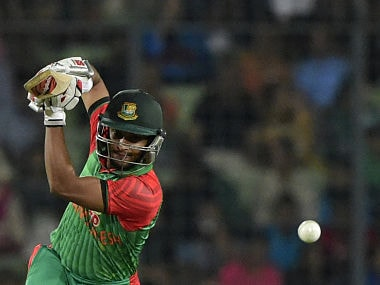 File photo of Shakib Al Hasan. AFP