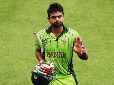 File picture of Ahmaed Shehzad. Getty