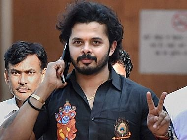 File image of cricketer S. Sreesanth. PTI