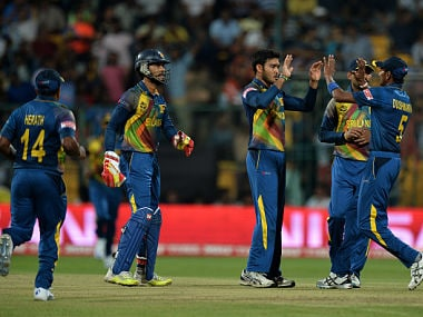 Sri Lankan Cricket team. GettyImages