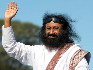File photo of Sri Sri Ravi Shankar. Reuters