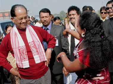 File photo of Tarun Gogoi. PTI