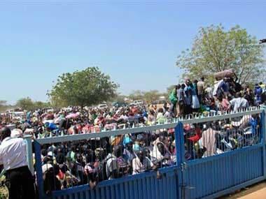 File image of a South Sudan UN. AP