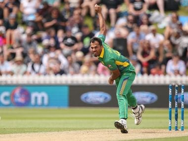 Pakistan pcaer Wahab Riaz. GettyImages