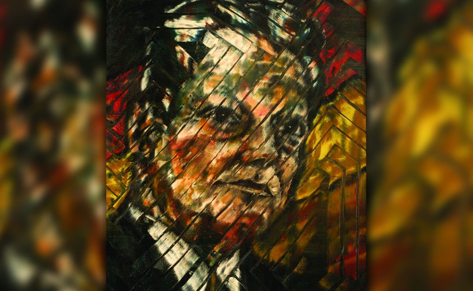 'Willy Brandt, former German chancellor, oil on canvas.' Jehangir Vazifdar is better known for his contributions to the skyline of Mumbai. A JJ School of Architecture graduate, Vazifdar also set up the architecture college, Vazifdar College of Building Industries (VCBI) in the city, apart from the art gallery Studio Windsor.