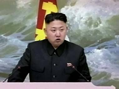 File photo of Kim Jong Un. AP