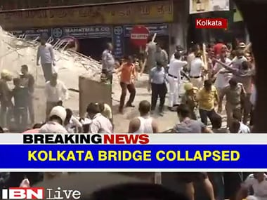 Live: Rahul Gandhi likely to visit Kolkata flyover accident site tomorrow; death toll rises to 24