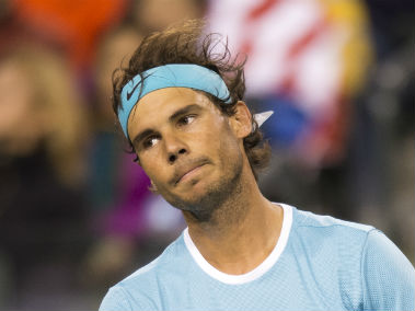 Rafael Nadal is not amused by the allegations. AFP