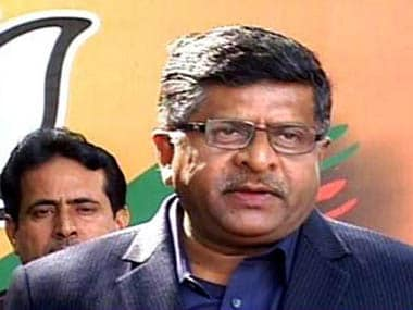FIR lodged against unknown persons not scribe who reported Aadhaar data breach, says Ravi Shankar Prasad