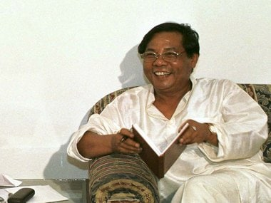 File image of the ever-smiling PA Sangma. Reuters