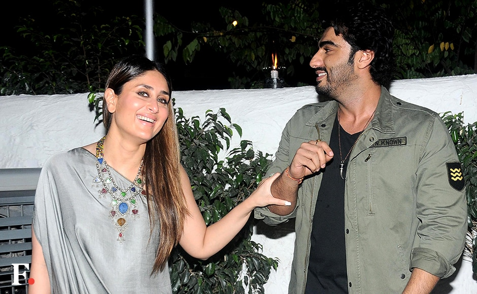 What's the joke Kareena, Arjun? Sachin Gokhale/Firstpost
