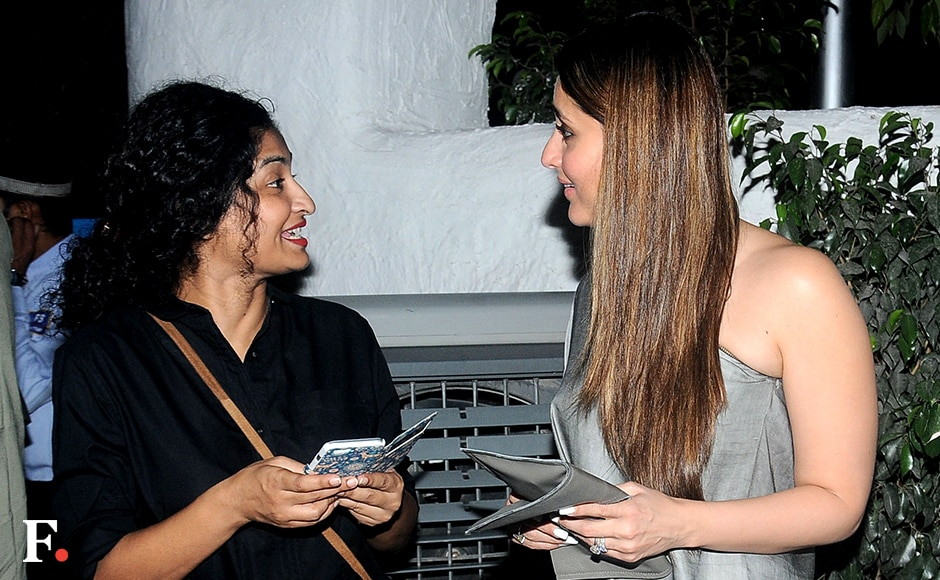 Gauri Shinde & Kareena Kapoor sharing notes on their next film? Sachin Gokhale/Firstpost