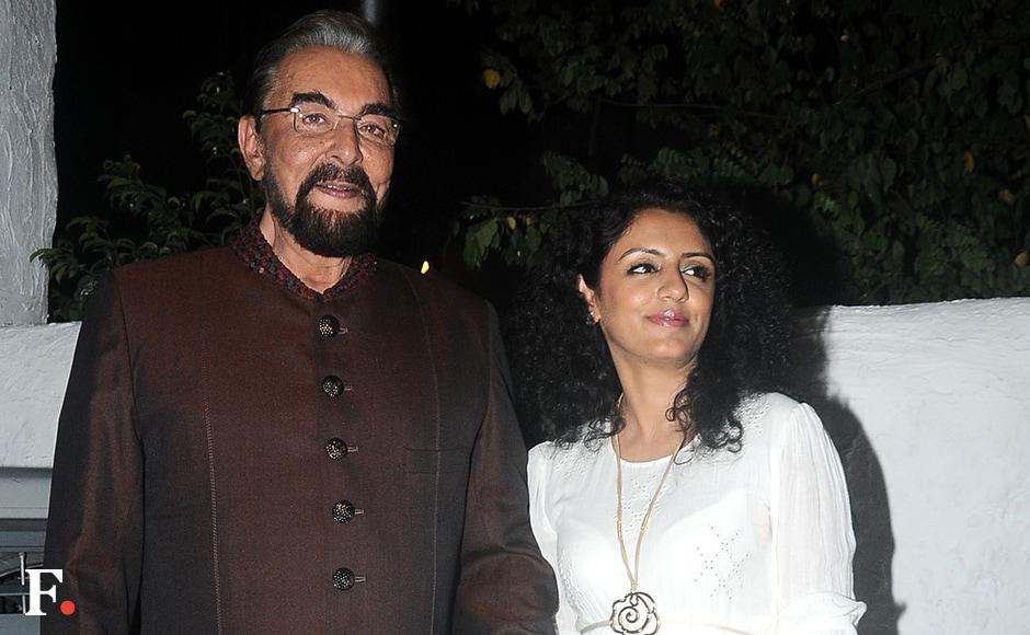 Kabir Bedi & Parveen Dusanj Sachin Gokhale/Firstpost