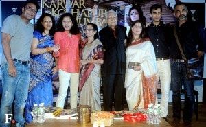 The Deo family gets together on stage.<br />Image by Sachin Gokhale/Firstpost