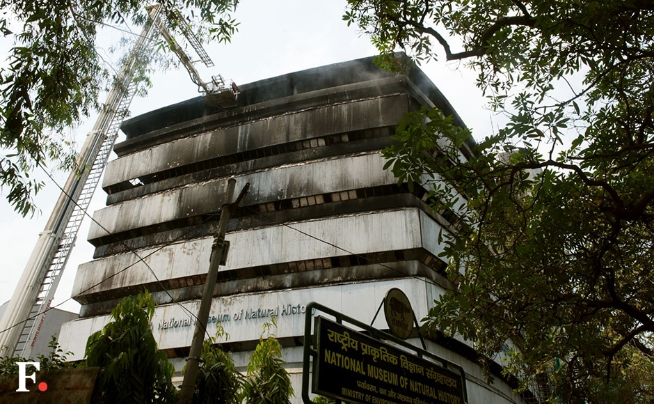 According to a FICCI statement, no one was present inside the building when the incident occurred and FICCI auditorium were not affected by the incident. Naresh Sharma/Firstpost