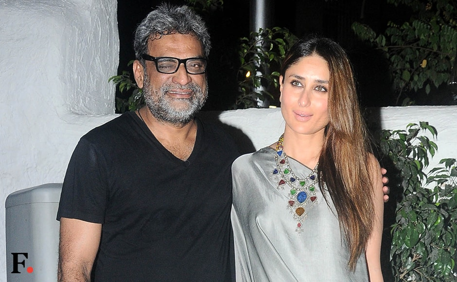 Director's actor:  R.Balki & Kareena Kapoor. Sachin Gokhale/Firstpost