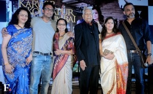 Ajinkya Deo is seen with his wife Seema, as well as Ramesh, Smita and Abhinay Deo pose for the cameras.<br />Image by Sachin Gokhale/Firstpost