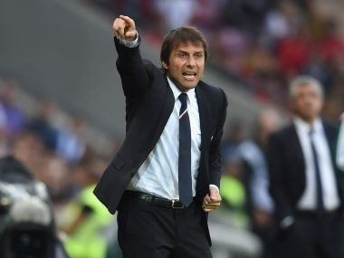 File photo of Antonio conte. Getty Images