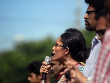 People protesting previous Bangladesh bloggers' deaths. AFP