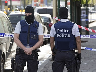 Filep photo of Belgium special forces police. Reuters