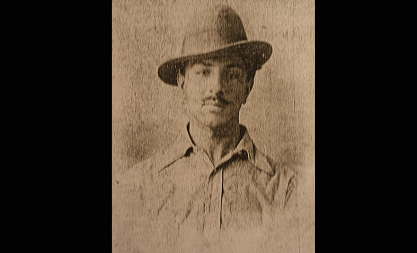 Bhagat Singh. Image from 'A Revolutionary History of Inter-War India'